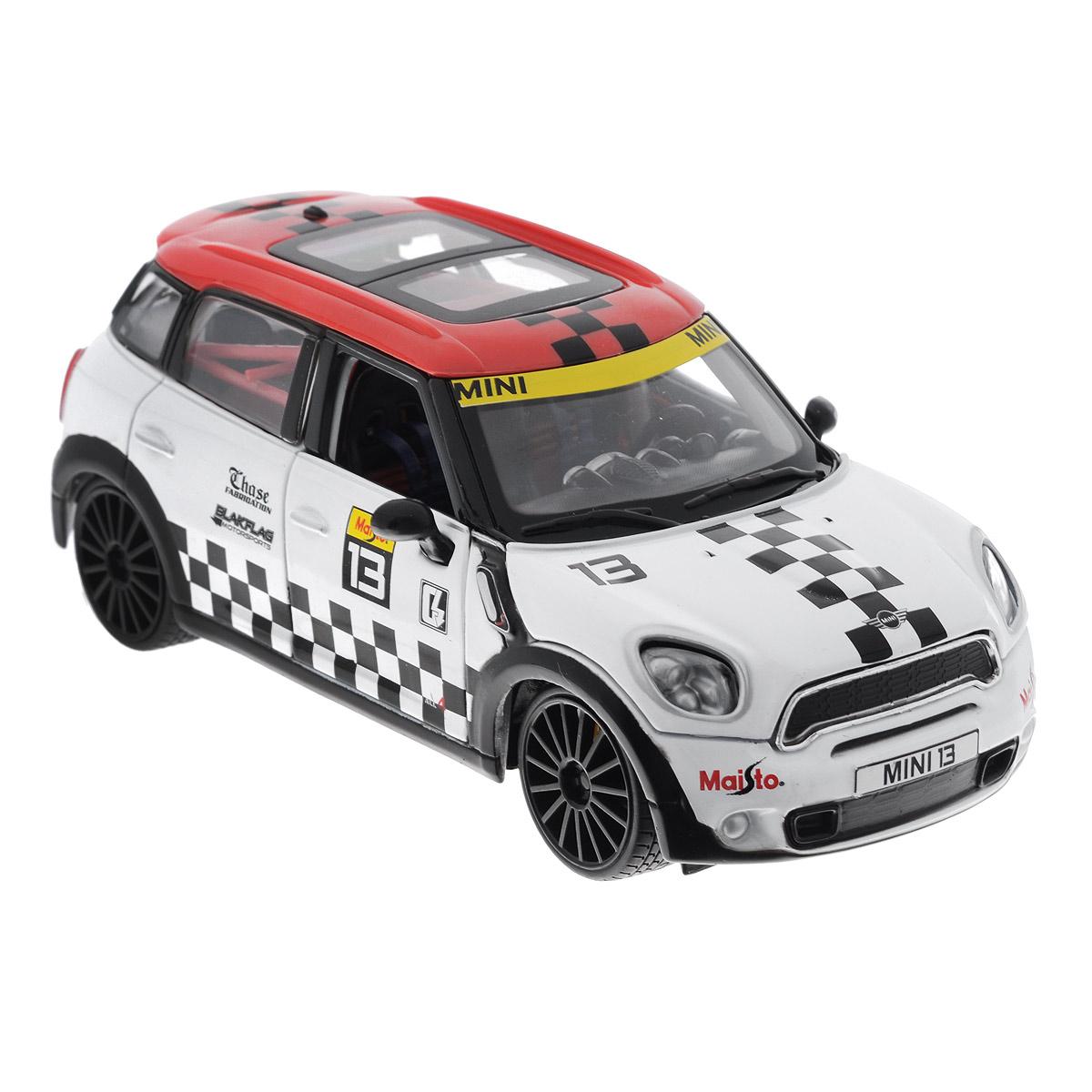 Maisto Модель автомобиля Mini Cooper Countryman 31367