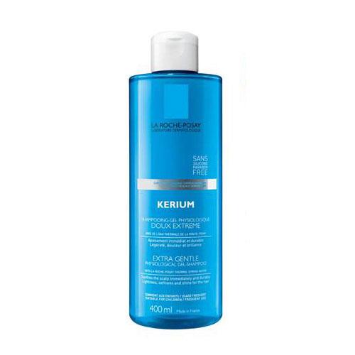 La Roche-Posay Шампунь мягкий физиологический Kerium для чувствительной кожи головы 400 млБ33041_шампунь-барбарис и липа, скраб -черная смородинаПервый мягкий шампунь на основе Термальной воды LA ROCHE-POSAY для лучшей защиты волос. Обеспечивает очень бережное мытье. Защищает волосы от воздействия жесткой воды. Подходит для нормальных и ослабленных волос, чувствительной кожи волосистой части головы. Может использоваться в дополнении к лечебным средствам для волос для достижения оптимального результата.