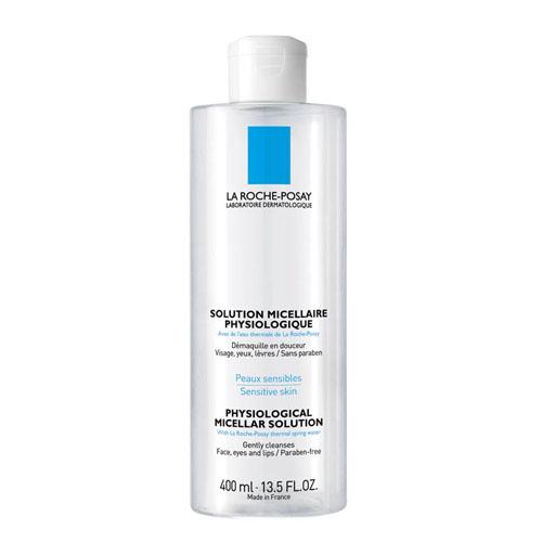 "La Roche-Posay Раствор мицеллярный физиологический для снятия макияжа с лица и глаз для всех типов кожи ""Physiological Cleansers"" 400"