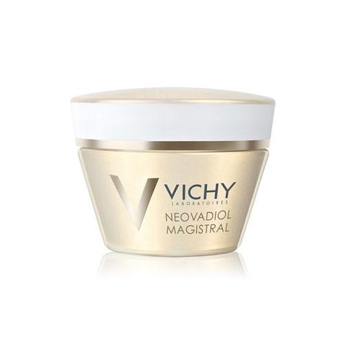 Vichy Питательный бальзам, повышающий плотность кожи Neovadiol GF Мажистраль, 50 млM4642400Неовадиол Мажистраль питательный бальзам, повышающий плотность кожи мгновенно смягчает, придавая ощущение комфорта. Легко впитывается, не оставляя жирных следов. День за днем плотность кожи восстанавливается. Содержит комплекс восстанавливающих масел, который восполняет дефицит липидов и придает насыщенную текстуру бальзама: - Масло Ши, обогащенное Омега 6 и 9, активизирует выработку липидов в эпидермисе. - Масло семян Картамуса, обогащенное Омега 3,6 и 9 стимулирует синтез липидов. - Масло рисовый отрубей, обогащенное Омега 6 и 9, питает и придает коже мягкость Эффективность: Восстанавливает все слои кожи через 10 дней Делает овал лица четким. Подтверждено 86% женщин Делает кожу упругой и эластичной. Подтверждено 92% женщин