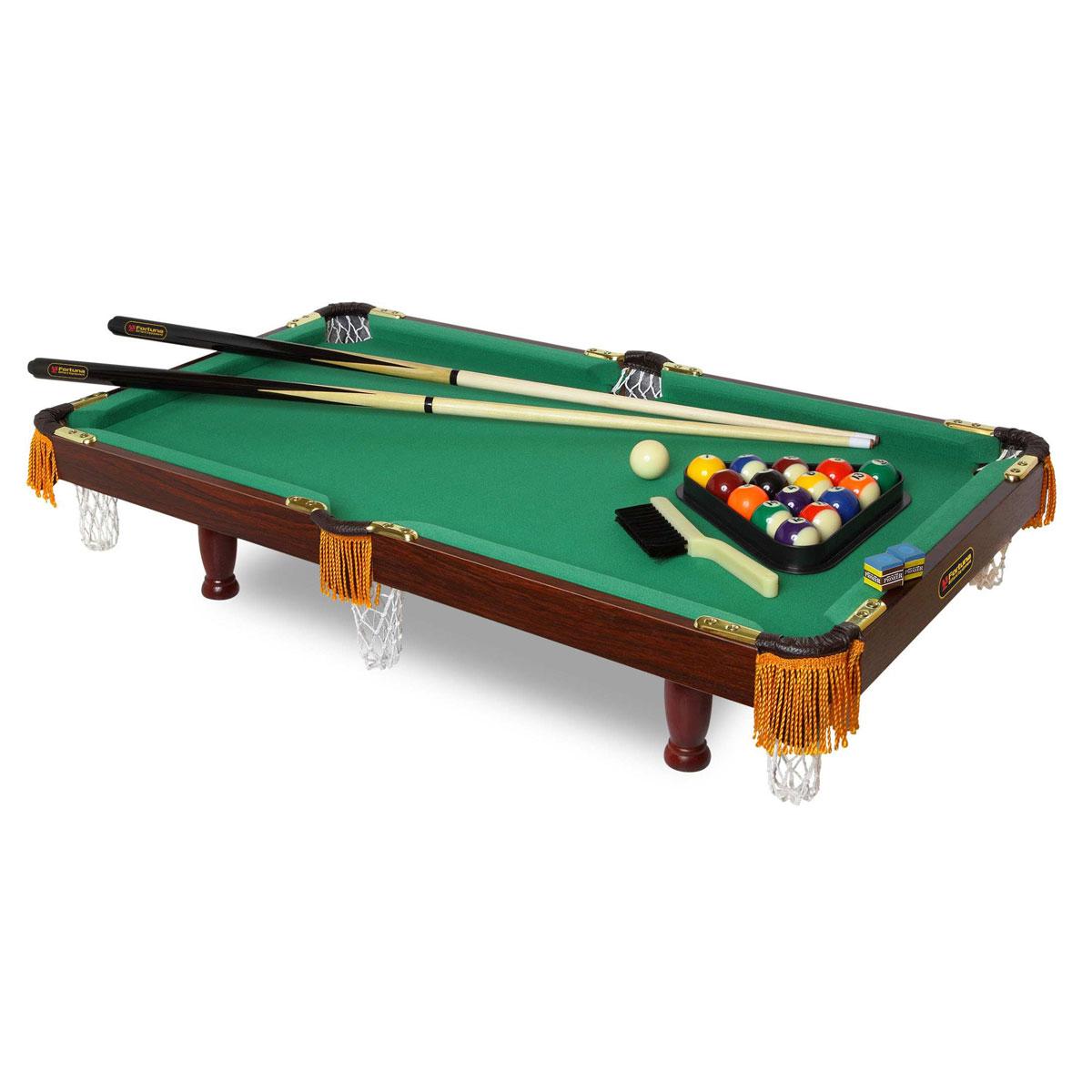 "Fortuna Billiard Стол бильярдный ""Fortuna"", для американского пула, 84 см х 42 см 04038"