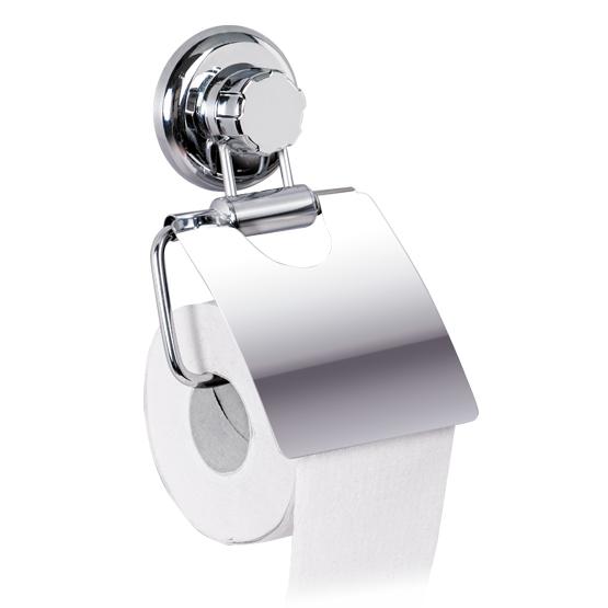 Держатель для туалетной бумаги настенный Tatkraft Mega Lock, 13 см х 3 см х 19 см11458Держатель для туалетной бумаги настенный Tatkraft Mega Lock выполнен из хромированной стали. Быстро и легко устанавливается благодаря вакуумному шурупу. Характеристики: Материал: хромированная сталь, пластик. Диаметр присоски: 7,3 см Ширина держателя: 13 см. Размер металлической пластины: 11,7 см х 12,5 см.