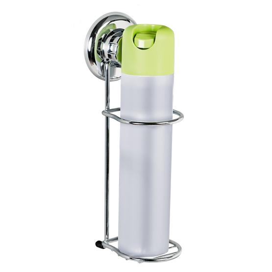 Держатель для освежителя воздуха Tatkraft Mega Lock, настенный, на вакуумной присоске11465Настенный держатель для освежителя воздуха Tatkraft Mega Lock с уникальной системой крепления на основе пружинно-затворного механизма позволяет избежать сверления стены и использования отвертки. Держатель изготовлен из хромированной стали. Перед креплением необходимо обезжирить поверхность, на которую будет устанавливаться вакуумная присоска, хорошо просушить данную поверхность. Настенный держатель для освежителя воздуха Tatkraft Mega Lock может быть использован только на ровной воздухонепроницаемой поверхности - плитке, стекле, металле, пластике, зеркале, оргстекле и т.п. Характеристики: Материал: хромированная сталь, пластик. Цвет: стальной. Диаметр вакуумной присоски: 7,3 см. Размер держателя: 7 см х 10 см х 25 см. Диаметр отверстия для освежителя воздуха: 6 см. Размер упаковки: 33 см х 14,5 см х 10 см. Артикул: 11465.