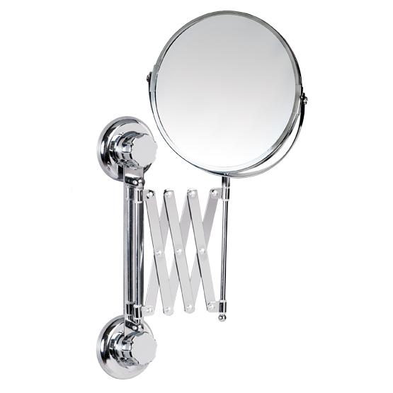 """Зеркало двустороннее выдвижное Tatkraft """"Mega Lock"""", диаметр 15 см 11557"""
