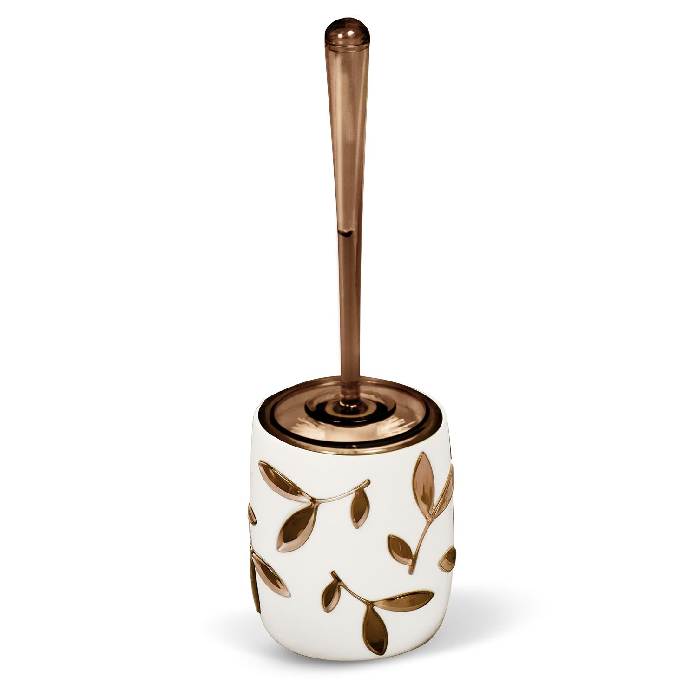 Гарнитур для туалета Tatkraft Immanuel Olive, цвет: серый, коричневый12042Гарнитур для туалета Tatkraft Immanuel Olive- это необходимая вещь в каждом доме. Чаша с устойчивым основанием не позволяет жидкости пролиться. Большая круглая моющая часть ершика, выполненная из прочных полимерных волокон, позволяет легко чистить поверхность. Характеристики: Материал: акрил, пластик. Размер гарнитура: 32 см х 7 см х 7 см. Длина ручки: 22 см. Диаметр подставки: 10 см. Высота подставки: 12,5 см. Размер упаковки: 36 см х 10 см х 10 см.