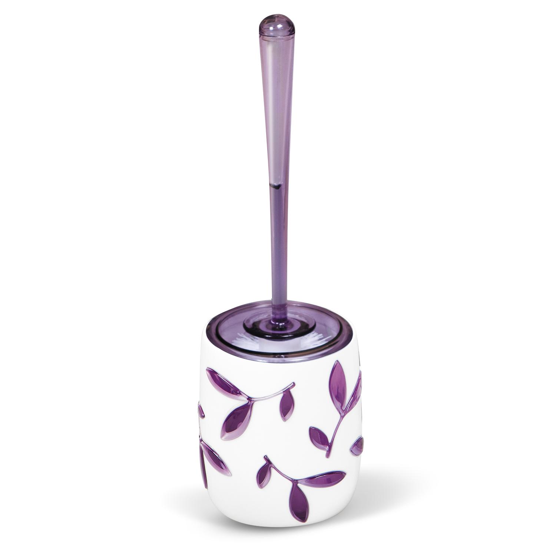 Гарнитур для туалета Tatkraft Immanuel Olive Violet, цвет: белый, фиолетовыйUP210DFГарнитур для туалета Tatkraft Immanuel Olive Violet- это необходимая вещь в каждом доме. Чаша с устойчивым основанием не позволяет жидкости пролиться. Большая круглая моющая часть ершика, выполненная из прочных полимерных волокон, позволяет легко чистить поверхность. Характеристики: Материал:акрил, пластик. Размер гарнитура:32 см х 7 см х 7 см. Длина ручки:22 см. Диаметр подставки:10 см. Высота подставки:12,5 см. Размер упаковки:36 см х 10 см х 10 см.
