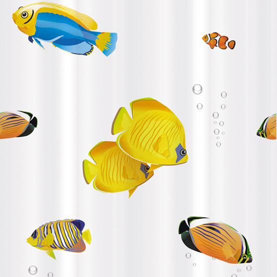 Шторка для ванной Tatkraft Blue Lagoon, 180 см х 180 см14039Шторка для ванной Tatkraft Blue Lagoon, изготовленная из Peva - водонепроницаемого, мягкого на ощупь и прочного материала, декорирована ярким рисунком в виде разноцветных рыбок. Не содержит ПВХ. Шторка быстро сохнет, легко моется и обладает повышенной износостойкостью. В комплекте также имеется 12 овальных колец. Шторка оснащена магнитами-утяжелителями для лучшей фиксации. Шторка для ванной Tatkraft Blue Lagoon порадует вас своим ярким дизайном и добавит уюта в ванную комнату. Характеристики: Материал: 50% полиэтилен, 50% этиленвинилацетат (Peva). Размер шторки: 180 см х 180 см. Количество колец: 12 шт. Размер упаковки: 20,5 см х 29 см х 3,5 см. Производитель: Эстония. Изготовитель: Китай. Артикул: 14039.
