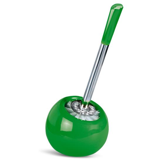 Гарнитур для туалета Tatkraft Terra, цвет: зеленый, 2 предмета15050