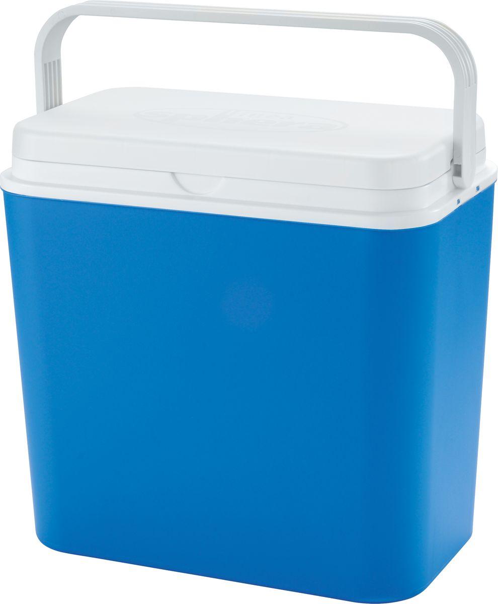 Автохолодильник электрический Atlantic, цвет: синий, 24 л, 12 В4132Электрический автохолодильник Atlantic предназначен для хранения и транспортировки скоропортящихся продуктов питания и напитков. Корпус изделия выполнен из высококачественного полиуретана с наполнением. Холодильник снабжен электро-розеткой и работает от напряжения в 12 В. Это позволяет использовать его в машине или лодке. Термоэлектрический элемент абсолютно бесшумен и устраняет необходимость использования вредных охлаждающих жидкостей. Вентилятор обеспечивает хорошую циркуляцию охлажденного воздуха. Благодаря отличной изоляции продукты остаются охлажденными на протяжении нескольких часов, даже при выключенном холодильнике. Автохолодильник работает исключительно от машинной розетки 12V DC, или от адаптера внутри помещений (не входит в комплект). Крышка плотно закрывается. Для удобства переноски предусмотрена ручка. Такой прибор пригодится для отдыха на природе, пикника и путешествий в автомобиле.