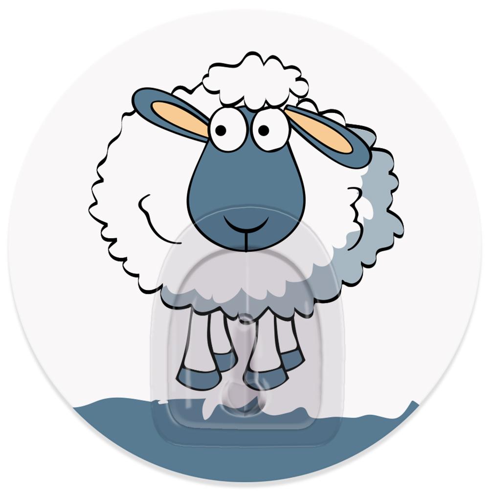 Крючок адгезивный Tatkraft Funny sheep. Maddy, диаметр 8 см68/5/2Крючок адгезивный Tatkraft Funny sheep. Maddy изготовлен из пластика. Крючок может быть установлен только на ровной воздухонепроницаемой поверхности: плитка, стекло, пластик, металл, ламинированное дерево и другие. Крючок является многоразовым, что позволяет перевесить его в любое удобное место. Крючок Tatkraft Funny sheep. Maddy имеет авторский дизайн, который украсит любой интерьер. Диаметр крючка: 8.Максимальная нагрузка: 3 кг.