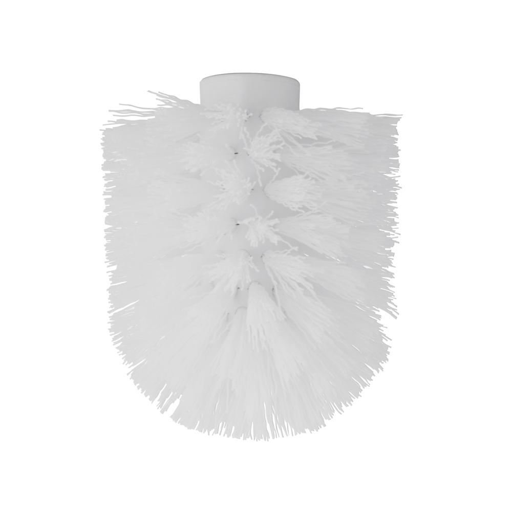 Сменный элемент для ершика Artmoon Kalipso, цвет: белый699034Сменный элемент для ершика Artmoon Kalipso выполнен из высококачественного пластика с жестким ворсом. Практичный и легкий в замене, он продлит срок службы туалетных гарнитуров. Ершик с такой насадкой отлично чистит поверхность, а грязь с него легко смывается водой. Внутренний диаметр насадки: 1,2 см. Диаметр ершика: 8 см.