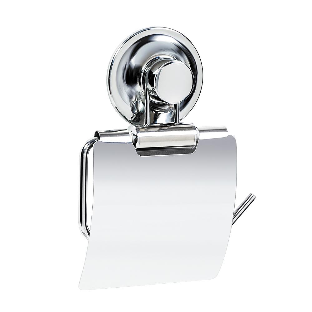 Держатель для туалетной бумаги Tatkraft Ring Lock, 12,5 х 2 х 12 см17245Держатель для туалетной бумаги Tatkraft Ring Lock выполнен из хромированной стали. Инновационная запатентованная система легкого монтажа не требует сверление дырок. Уникальная технология Magic Ring позволяет устанавливать присоски много раз и на различные поверхности: стекло, глазурованная плитка, металл, пластик. Держатель выдерживает вес до 8 кг. Размер держателя: 13,5 см х 4 см х 19,5 см. Максимальный вес: 8 кг.