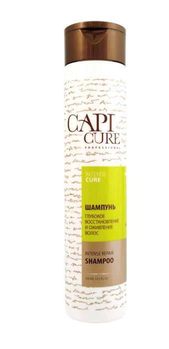 CapiCure Шампунь Глубокое восстановление и Оживление волос, 300 мл02041401Шампунь Глубокое восстановление и Оживление волос Intense Repair Shampoo С помощью активных восстанавливающих компонентов и мощных антиоксидантов шампунь CapiCure возвращает к жизни глубоко поврежденные и ослабленные волосы. Входящий в состав шампуня низкомолекулярный активный комплекс с протеинами сои проникает под чешуйки волоса, восстанавливая поврежденные участки, насыщая необходимыми белками и аминокислотами. Защитный комплекс с маслом жожоба и витамином Е активизирует процесс восстановления, обволакивает волос по всей длине, разглаживая поверхность и запечатывая лечебные компоненты внутри. Растительные экстракты восстанавливают нормальную жизнедеятельность луковиц, добавляют эластичности и мерцающего блеска. Благодаря высокоэффективной формуле шампунь предотвращает электризацию волос, защищает от сечения и ломкости, без утяжеления. CapiCure – это система комплексного восстановления волос после длительных и агрессивных повреждений. Все продукты серии предназначены и максимально...