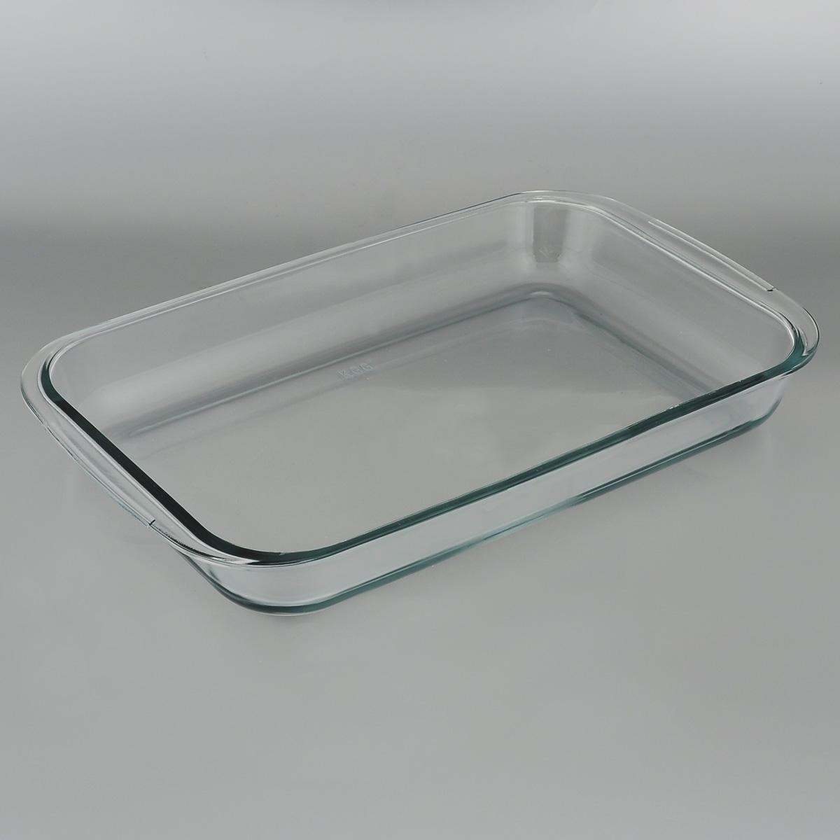 Форма для запекания Mijotex, прямоугольная, 39 см х 23 смPL4Прямоугольная форма для запекания Mijotex изготовлена из жаропрочного стекла, которое выдерживает температуру до +450°С. Форма предназначена для приготовления горячих блюд. Оснащена двумя ручками. Материал изделия гигиеничен, прост в уходе и обладает высокой степенью прочности. Форма идеально подходит для использования в духовках, микроволновых печах, холодильниках и морозильных камерах. Также ее можно использовать на газовых плитах (на слабом огне) и на электроплитах. Можно мыть в посудомоечной машине. Внутренний размер формы: 35 см х 23 см. Внешний размер формы (с учетом ручек): 39 см х 23 см. Высота стенки формы: 5 см.