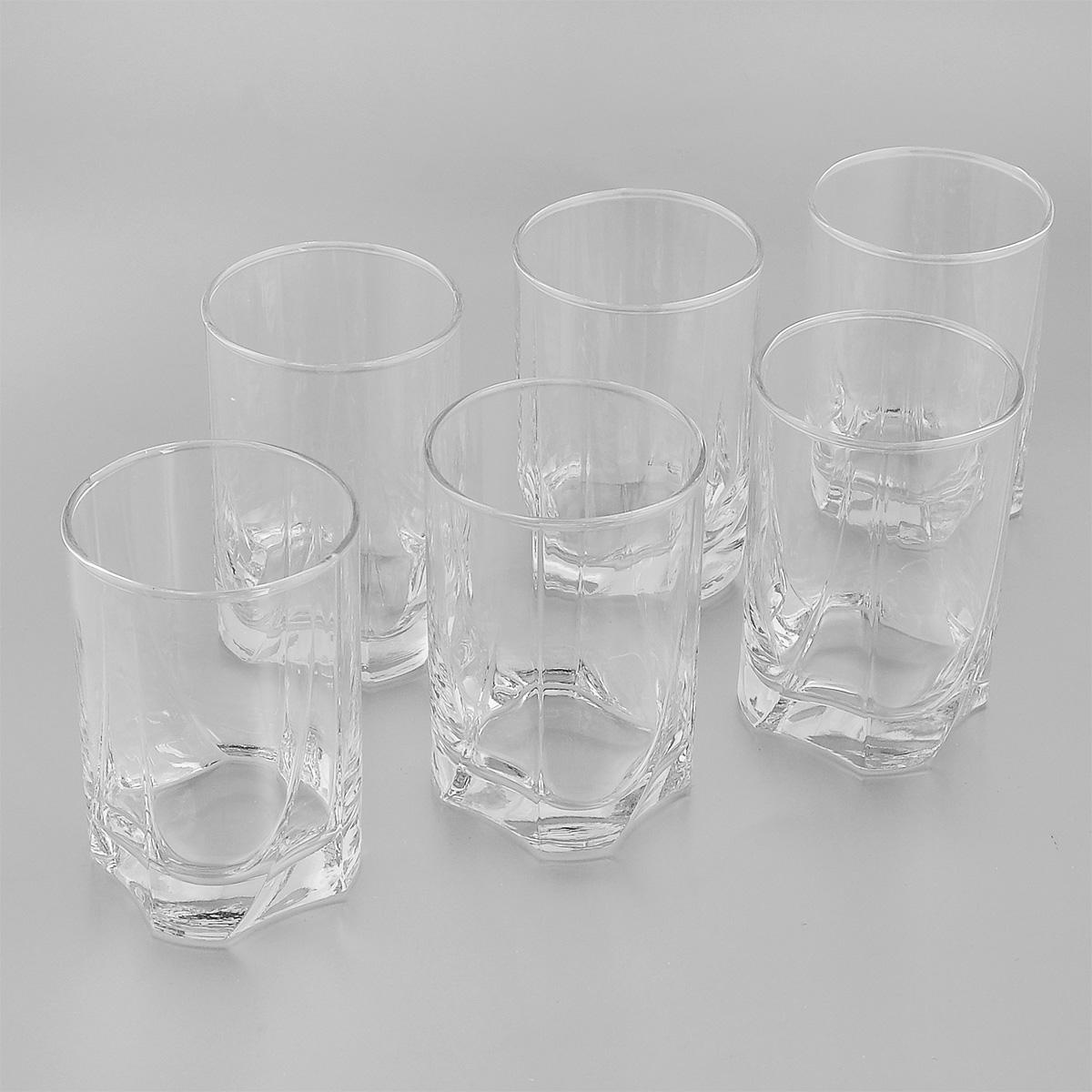 Набор стаканов Pasabahce Luna, 255 мл, 6 штVT-1520(SR)Набор Pasabahce Luna, выполненный из высококачественного натрий-кальций-силикатного стекла, состоит из шести стаканов. Стаканы прекрасно подойдут для компотов, соков и других напитков. Их оценят как любители классики, так и те, кто предпочитает современный дизайн. Можно использовать в морозильной камере и микроволновой печи. Можно мыть в посудомоечной машине. Диаметр стакана (по верхнему краю): 6,5 см. Высота стакана: 10 см.