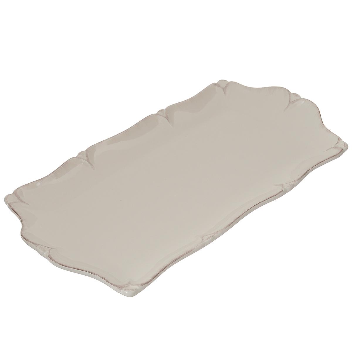 Набор блюд для нарезки Lillo Ideal, цвет: белый, 27,5 х 14 х 2,5 см, 2 предмета214209Блюдо для нарезки Lillo Ideal, изготовленное из высококачественной керамики, оформлено рельефным краем. Такое блюдо сочетает в себе изысканный дизайн с максимальной функциональностью. Оригинальность оформления придется по вкусу тем, кто предпочитает утонченность и изящность. Красивое блюдо украсит сервировку вашего стола и подчеркнет прекрасный вкус хозяйки, а также станет отличным подарком. Размер: 27,5 см х 14 см х 2,5 см.