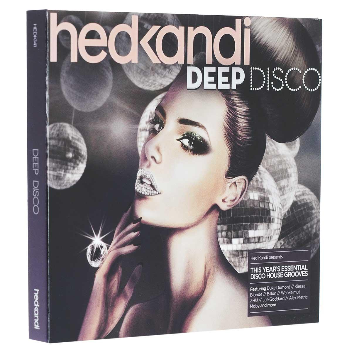 Hed Kandi. Deep Disco (2 CD) 2015 2 Audio CD