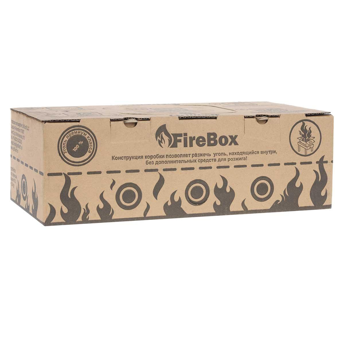 Уголь древесный Грилькофф FireBox, отборный, 1,5 кгCM000001328Уголь Грилькофф FireBox изготовлен изабсолютно натуральных материалов, он чрезвычайно легок в использовании, которое не предполагает добавления каких либо химических веществ. Это существенно улучшает вкус приготовляемых с помощью Грилькофф FireBox продуктов. Грилькофф FireBox легок в использовании, и после выполнения нескольких элементарных действий он быстро разгорится без использования дополнительных горючих материалов.Достаточно выполнить 5 последовательных действий, и вы сможете без труда разжечь уголь, не вынимая из коробки!Размер упаковки: 40 см х 13 см х 25 см.Вес упаковки: 1,5 кг (10 л).Состав: отборный древесный уголь.