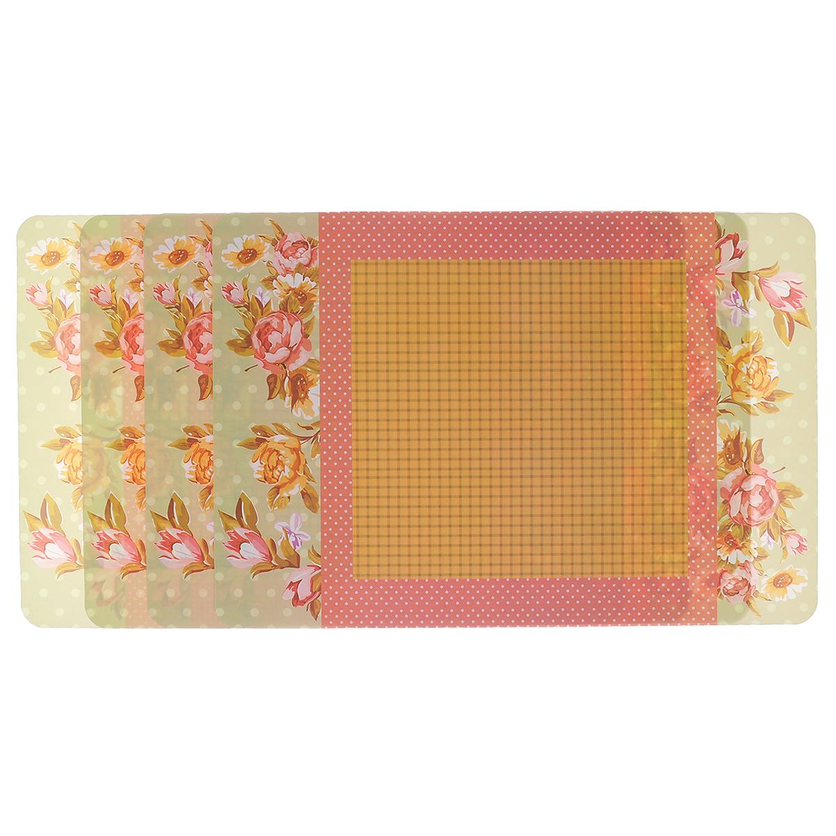 """Набор подложек под столовые приборы Феникс-презент """"Magic Home"""", 45 см х 30 см, 4 шт. 33129"""