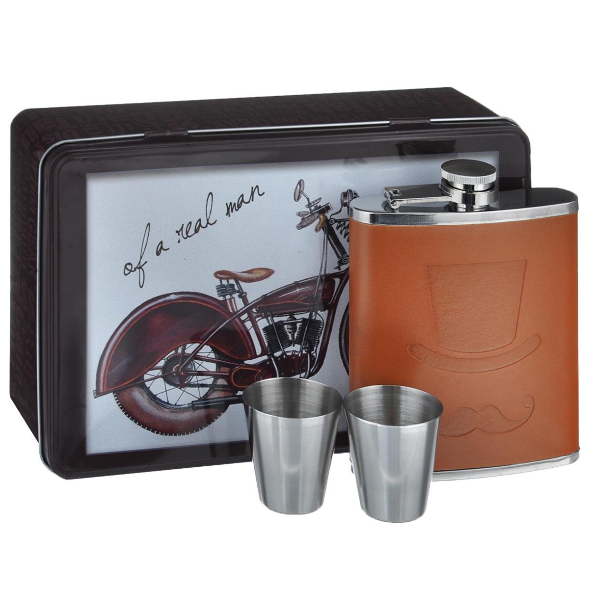 """Набор подарочный Феникс-презент """"Мотоцикл"""", 3 предмета 37806"""