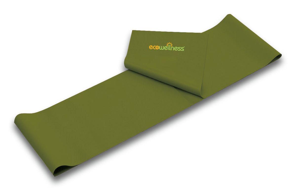 Лента для аэробики Ecowellness, цвет: зеленый, толщина 0,65 мм. QB-102G3-65QB-102G3-65Лента Ecowellness выполнена из высококачественного латекса, предназначена для занятий аэробикой и идеально подходит для укрепления верхней и нижней части тела. Это полноценный компактный тренажер, который удобно брать с собой в дорогу. Размер: 120 см х 15 см. Толщина: 0,65 мм.