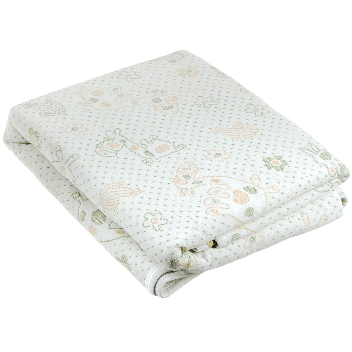Плед-одеяло детский Baby Nice Верблюды, стеганый, цвет: бежевый, 100 см x 140 смQ317475Стеганый детский плед-одеяло Baby Nice Верблюды, изготовленный из мягкого натурального 100% хлопка, оформлен оригинальным рисунком. Плед-одеяло для новорожденных из мягкого и дышащего хлопка идеально подходит для комфортного сна малыша. Утеплитель нового поколения microfiber, помещенный между трикотажными полотнами с обеих сторон, делает изделие мягким, легким и одновременно теплым, создавая вашему малышу ощущение свежести и комфорта. Одеяло хорошо пропускает воздух и позволяет коже дышать, предотвращая повышенное потоотделение. Изделие сохраняет свои свойства даже после многочисленных стирок, быстро сохнет и не требует глажки. Во время прогулки такой плед послужит легким одеялом в коляску.