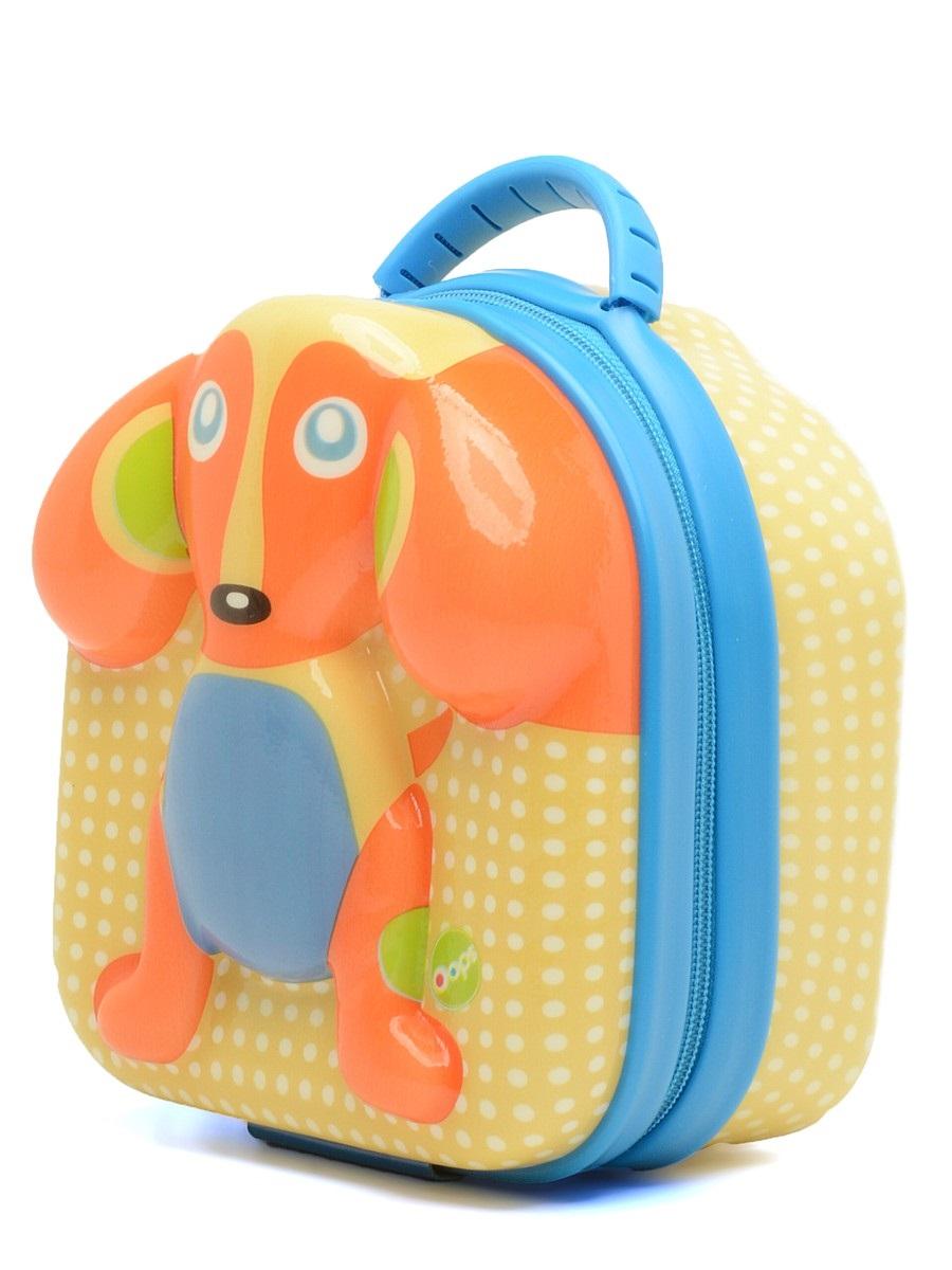 Сумочка детская OOPS СобакаO 31004.22Детская сумочка OOPS Собака изготовлена из высококачественных полимерных материалов, не содержащих PVC, BPA или фталаты. Сумочка закрывается на застежку-молнию, а в верхней части находится удобная ручка для переноски. С наружной части сумка украшена изображением собачки. Такая стильная сумочка послужит не только для переноски различных необходимых ребенку вещей, но и для хранения еды. Она позволит вашему малышу взять с собой перекусить, когда он находится на прогулке, в школе, на пикнике или в детском саду. Идеальный вариант для прогулок на открытом воздухе, когда очень захотелось есть. В основном вместительном отделении можно поместить контейнер с едой, который закрепляется при помощи двух прочных ремешков. А вот в дополнительном сетчатом кармане можно поместить бутылку с напитком, например. Вы можете не переживать за свежесть продуктов, так как сумка оснащена отличной термоизоляцией, что обеспечивает отличную сохранность еды. Также в сумочке можно...