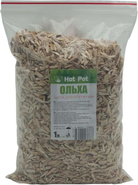 Щепа для копчения Hot Pot Ольха, 1 л61418Щепа Hot Pot Ольха используется для копчения кролика, рыбы, морепродуктов, сыров и дичи.