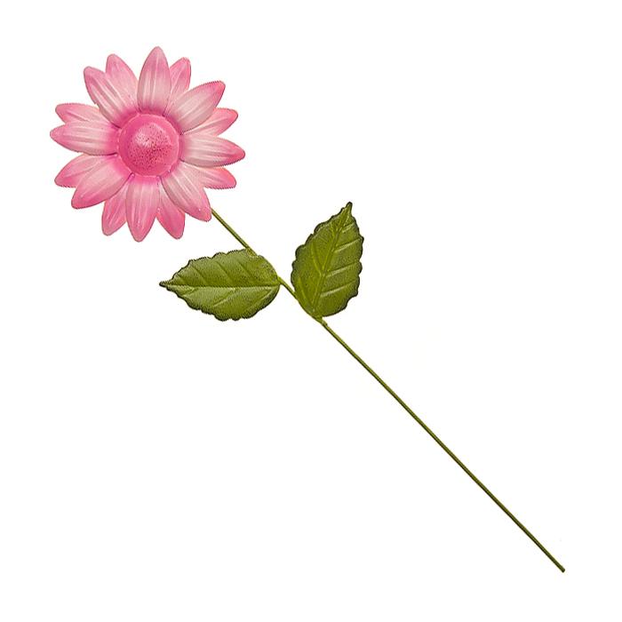 Украшение на ножке Village People Астры, цвет: розовый, высота 28,5 см67162_1Украшение на ножке Village People Астры предназначено для декорирования садового участка, грядок, клумб, цветочных кашпо, а также для поддержки и правильного роста растений. Изделие в ярком симпатичном дизайне выполнено из прочного и надежного металла, легко устанавливается в землю. Оно украсит ваш сад и добавит ярких красок.