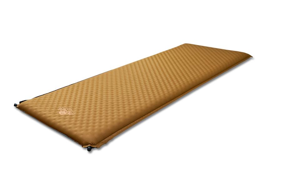 """Коврик самонадувающийся Alexika """"Alpine Plus 80"""", цвет: коричневый, 198 см х 76 см х 7,5 см 9355.7514"""