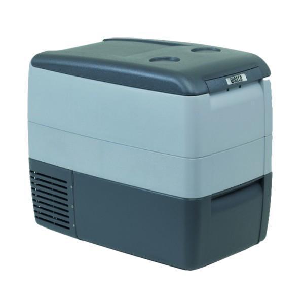 WAECO CoolFreeze 46-CDF автохолодильник, 39 лTC-14FL-ACНовая модель компрессорного автохолодильника Waeco CoolFreezeCDF-46 разработана на базе предыдущей модели Waeco CoolFreezeCDF-45. Дополнительными новыми функциями и доработками вавтохолодильнике Waeco CoolFreeze CDF-46 стали цифровой дисплей, внутренняподстветка и съемная проволочная корзинка для продуктовБлагодаря компактным габаритам и съемной крышке, даный мини-холодильник удобный и практичный в эксплуатации, не требует дополнительного сервиса