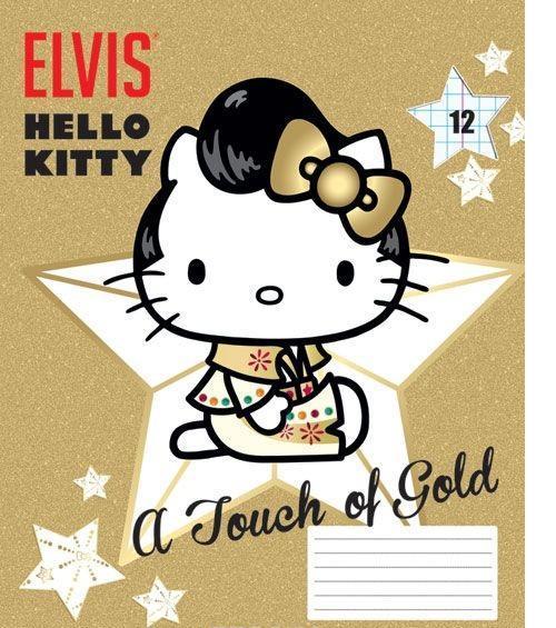Hello Kitty Набор тетрадей в линейку, 12 листов, формат А5, 10 шт125041