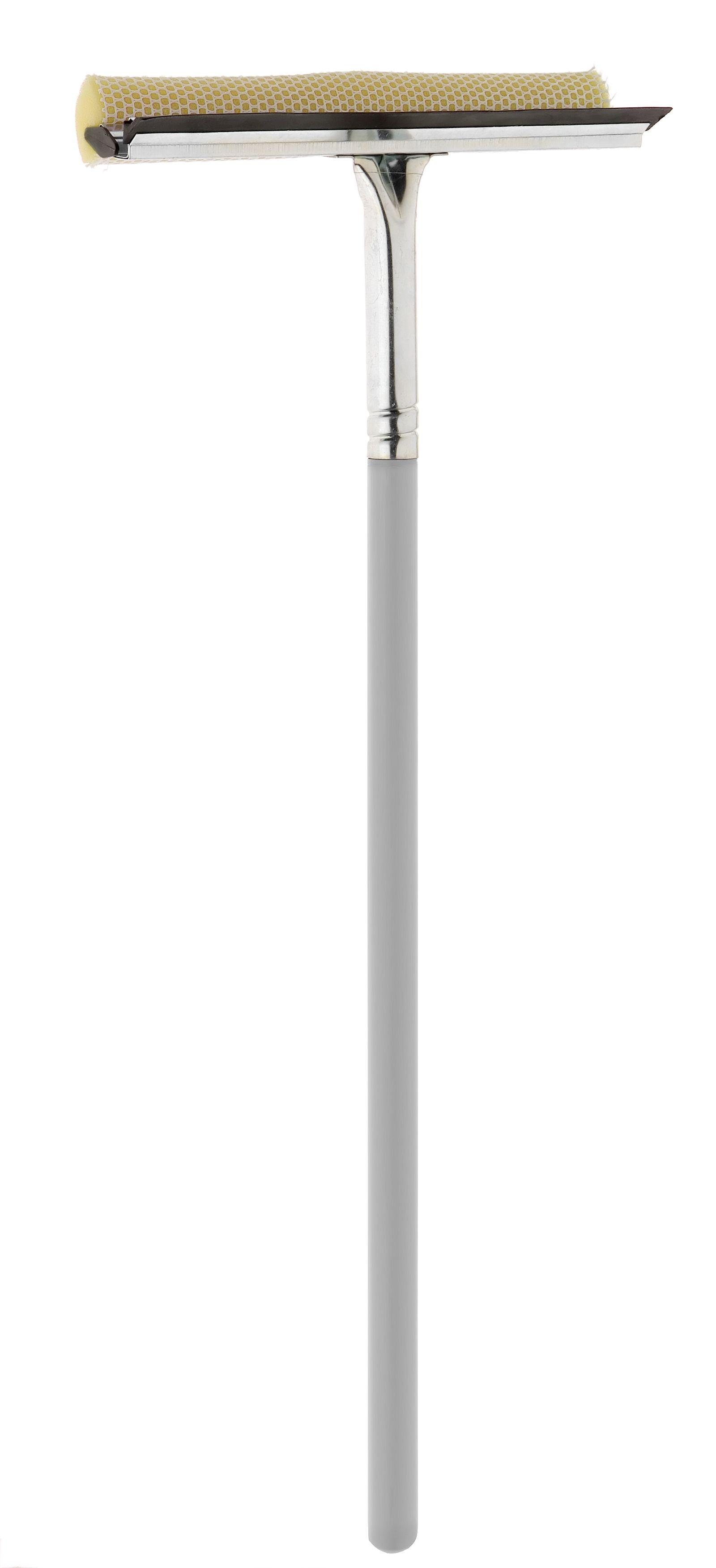 Стеклоочиститель Apex Mosquito, длина рукоятки 60 см20621-AСтеклоочиститель Apex Mosquito с мягкой губкой и кромкой из резины станет незаменимым помощником при уборке. Удобная рукоятка выполнена из дерева. Рукоятку при необходимости можно открутить. Оригинальный, современный и удобный стеклоочиститель сделает уборку эффективнее и приятнее. Размер рабочей поверхности: 25 см х 6 см х 4 см. Длина рукоятки: 60 см.