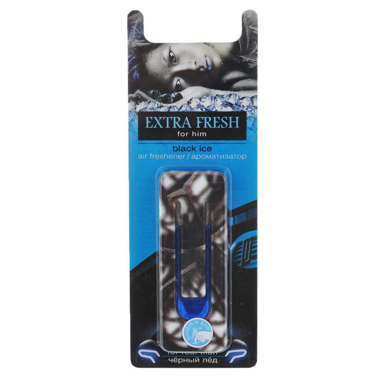 Ароматизатор для салона автомобиля Sapfire Extra Fresh. For Him, черный ледSAA-07892Мембранный мужской ароматизатор для салона автомобиля Sapfire Extra Fresh. For Him имеет приятный аромат. Ароматизатор, выполненный из пластика, предназначен для автомобиля, а также для небольших помещений. Extra Fresh - новое поколение концентрированных ароматизаторов. Парфюмерная композиция произведена в Японии. Обеспечивает стойкий насыщенный аромат и стойкий запах. Состав: пластик, парфюмерная композиция высокой концентрации, стабилизатор. Размер ароматизатора: 9 см х 3,5 см х 1,5 см.