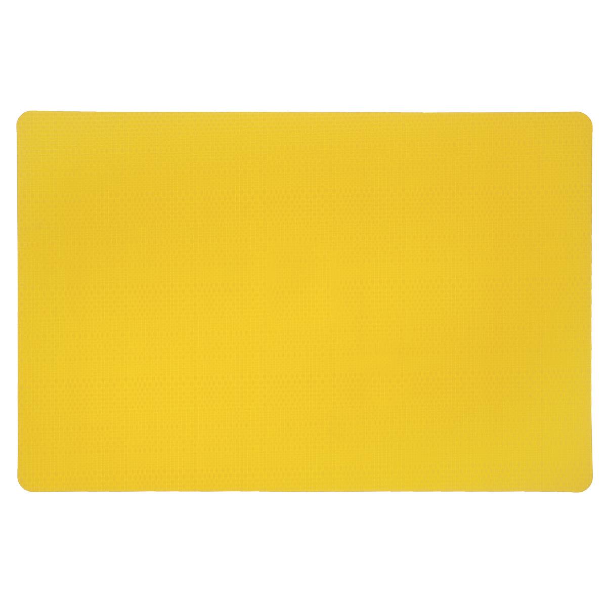 Подставка под горячее Amadeus, цвет: желтый, 43 см х 28,5 см. 28HZ-906328HZ-9063Прямоугольная подставка под горячее Amadeus выполнена из мягкого пластика с декоративной плетеной текстурой. Подставка не боится высоких температур и легко чистится от пятен и жира. Каждая хозяйка знает, что подставка под горячее - это незаменимый и очень полезный аксессуар на каждой кухне. Ваш стол будет не только украшен оригинальной подставкой, но и сбережен от воздействия высоких температур ваших кулинарных шедевров. Размер подставки: 43 см х 28,5 см.