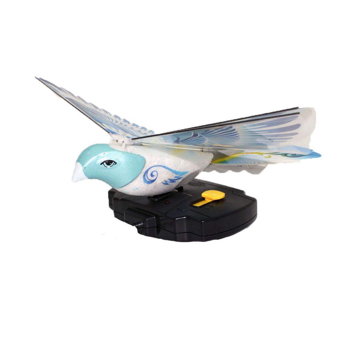 Balbi Игрушка на радиоуправлении Летающая птица цвет голубой