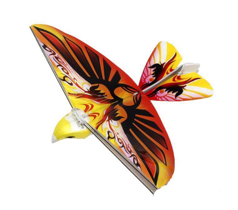 Balbi Игрушка на радиоуправлении Летающая птица цвет желтый