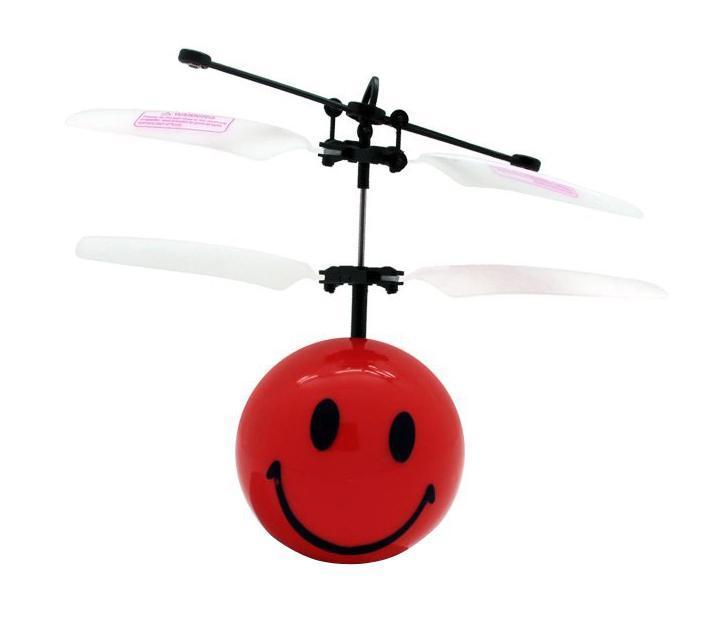 Balbi Минифлаер на радиоуправлении Смайлик цвет красный