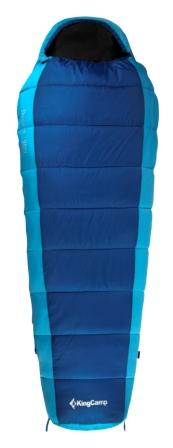 Мешок спальный KingCamp Desert 250 KS 3104, левосторонняя молния, цвет: синий, 215 см х 80 смATC-F-01Спальник-кокон KingCamp Desert 250 KS 3104 - незаменимая вещь для любителей уюта и комфорта во время активного отдыха. Спальный мешок закрывается на двустороннюю застежку-молнию. Этот теплый спальный мешок-кокон спасет вас от холода во время туристического похода, поездки на рыбалку.Спальный мешок упакован в удобный нейлоновый чехол для переноски. Наполнитель: WarmLoft (Hollowfibre), 250 г/м2. Внешний материал: нейлон 210T нейлон Ripstop, легкий, износостойкий. Внутренний материал: полиэстер 65%, хлопок 35%.