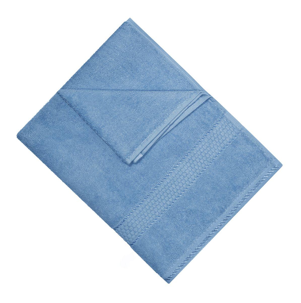 Полотенце махровое Osborn Textile, цвет: голубой, 50 см х 90 смУзТ-МПМ-004-01-06В состав полотенца Osborn Textile входит только натуральное волокно - хлопок. Лаконичные бордюры подойдут для любого интерьера ванной комнаты. Полотенце прекрасно впитывает влагу и быстро сохнет. При соблюдении рекомендаций по уходу не линяет и не теряет форму даже после многократных стирок. Плотность: 450 г/м2.