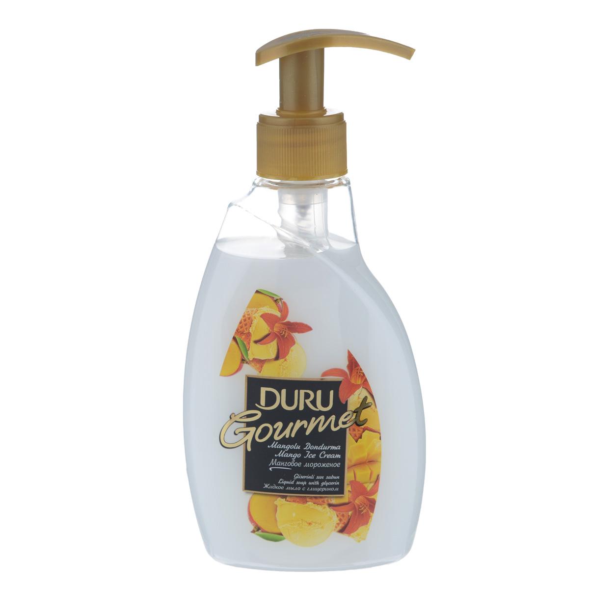 Duru GOURMET Мыло жидкое Манговое мороженое 300млSatin Hair 7 BR730MNСовременное средство гигиены и ухода за кожей с увлажняющим действием глицерина. Отличается приятным фруктовым ароматом и нежной текстурой.