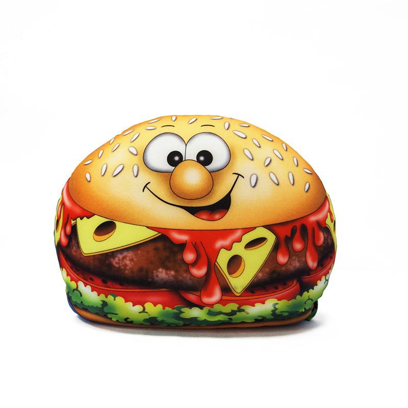 MAXITOYS Подушка ЧизбургерMT-D041410Подушка выполнена в форме Чизбургера. Внешний материал-гладкий, эластичный и прочный трикотаж. Наполнитель: гранулы полистирола-крохотные шарики диаметром меньше миллиметра. Срок службы не ограничен.