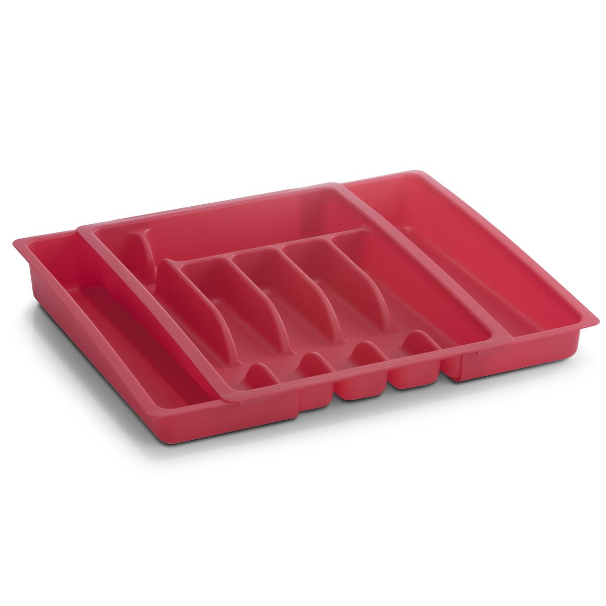 Лоток для столовых приборов Zeller, 38 х 29 х 6 смVT-1520(SR)Лоток для столовых приборов Zeller изготовлен из прочного пластика. Изделие имеет 6 отделений, в которых можно систематически разложить столовые приборы. Лоток можно разместить в кухонном ящике.