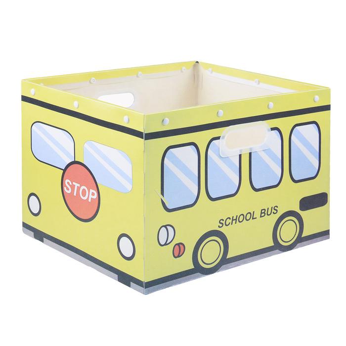 Коробка для хранения House & Holder, цвет: желтый, 38 см х 30 см х 27 смUP210DFКоробка для хранения House & Holder изготовлена из пластика и металла. Благодаря специальным вставкам, коробка прекрасно держит форму. Стильный дизайн коробки хорошо впишется в интерьер детской комнаты. Внутренняя часть позволяет хранить различные вещи и мелкие аксессуары. При необходимости легко складывается в плоскую, компактную форму. Коробка оснащена удобными ручками-отверстиями для переноски.Коробка House & Holder - идеальное решение для аккуратного хранения вещей и аксессуаров. Размер коробки: 38 см х 30 см х 27 см.