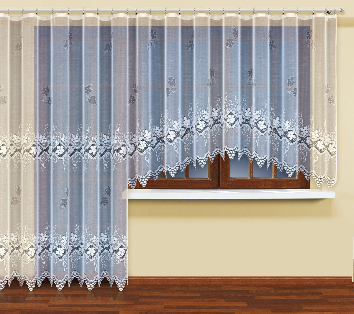 Комплект балконный HAFT 300*160+200*240. 222570222570Комплект балконный XAFT 300*160+200*240. 222570 Материал: 100% п/э, размер: 300*160+200*240, цвет: белый