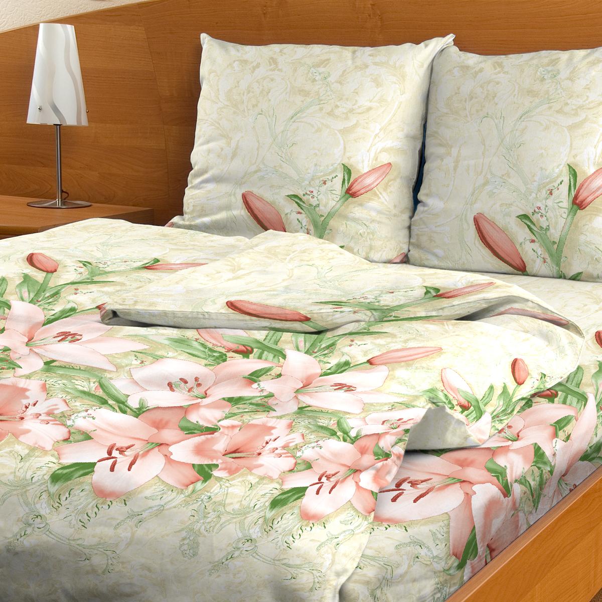 Комплект белья Letto Лили-Анна, 2-спальное, наволочки 70х70, цвет: розовый. В47-4В47-4Комплект постельного белья Letto Лили-Анна выполнен из бязи (100% натурального хлопка). Комплект состоит из пододеяльника, простыни и двух наволочек. Постельное белье оформлено ярким красочным рисунком. Гладкая структура делает ткань приятной на ощупь, мягкой и нежной, при этом она прочная и хорошо сохраняет форму. Ткань легко гладится. Благодаря такому комплекту постельного белья вы сможете создать атмосферу роскоши и романтики в вашей спальне. В комплект входят: Пододеяльник - 1 шт. Размер: 175 см х 215 см. Простыня - 1 шт. Размер: 180 см х 220, см. Наволочка - 2 шт. Размер: 70 см х 70 см. Плотность: 125 г/м.