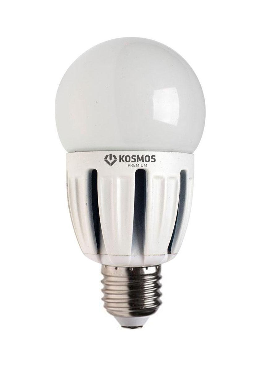 Светодиодная лампа Kosmos Premium, теплый свет, цоколь Е27, 5W. KLED5wGL45230vE2727KLED5wGL45230vE2727Использование светодиодов от мирового лидера SAMSUNG и предоставление 2 лет гарантии – залог надежной и стабильной работы лампы. Теплый оттенок света лампы по цветовой температуре соответствует обычной лампе накаливания и позволит создать уют в спальнях и местах отдыха.