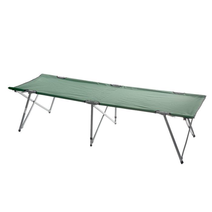 Кровать складная Green Glade M6185, 193 х 67 х 44 смGESS-725Складная кемпинговая кровать Green Glade M6185 предназначена для создания комфортных условий в туристических походах, на рыбалке и кемпинге.Особенности:Компактная складная конструкция.Прочный стальной каркас.Прочная ткань полиэстер 600D с поливиниловым покрытием обладает повышенной износостойкостью.В комплекте чехол для переноски и хранения.