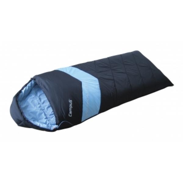 Спальный мешок Campus Adventure 300SQ, правосторонняя молния, 240 см х 95 см10701023Данная модель предусмотрена для летнего и осенне-весеннего времени, так как рассчитана на температуру не ниже -8°C. Коконообразная анатомическая форма обеспечивает плотное прилегание спального мешка, в то же время внутри него предусмотрено достаточно свободного места для комфортного сна. Слой синтетического утеплителя контролирует терморегуляцию внутри спального мешка, поддерживая в нем необходимую температуру не зависимо от значения температуры окружающего воздуха. В сложенном виде мешок занимает очень мало места и весит совсем немного. Утеплитель: синтетика (Thermoloft-6). Внешний материал: нейлон. Внутренний материал: полиэстер.