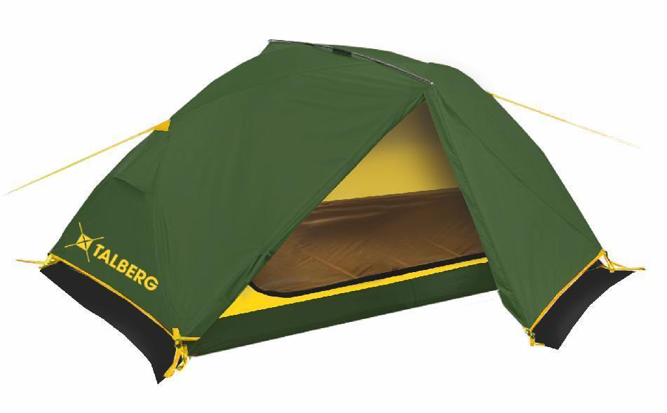 Палатка Talberg BORNEO PRO 2, цвет: зеленый borneo 2013